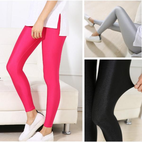 softthinlegging, Leggings, highelasticskinnypant, Spandex