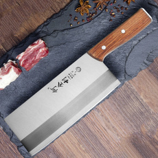Steel, Stainless, Kitchen & Dining, chinesecleaver
