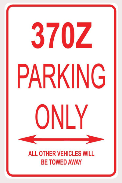 nissan370zdecor, Decor, nissan370zparkingsign, Gifts