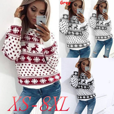 Women Sweater, Christmas, Suéteres, Pullovers