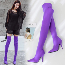 winter fashion, Knee High Boots, Womens Boots, Winter