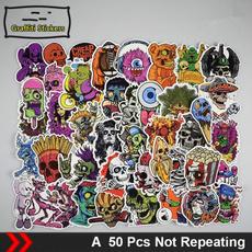Car Sticker, caricature, Stickers, trunk