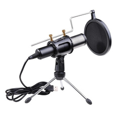 Microphone, usb, studiomicrophone, Headsets & Microphones