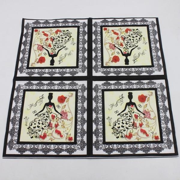 papernapkin, Home Decor, handkerchief, Wedding Supplies