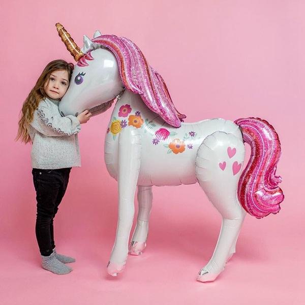 unicornparty, foilballoon, Christmas, Darčeky