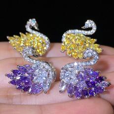DIAMOND, Dangle Earring, Jewelry, Stud Earring