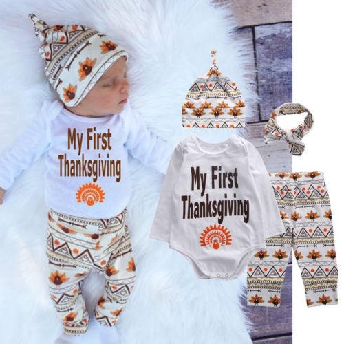 babyromper, Cotton, newborncustome, babythanksgivingcostume