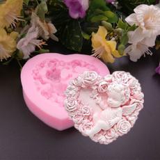 pink, handmadesoapmold, angelmold, art