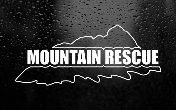 Mountain, search, rescue, Stickers