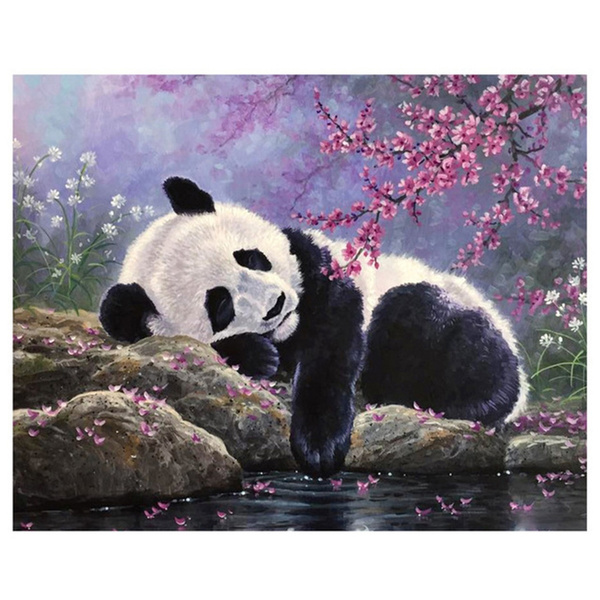 crossstitch, pandapainting, Decor, DIAMOND
