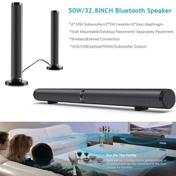 Home Theater & TVs, Wireless Speakers, Hdmi, Bluetooth