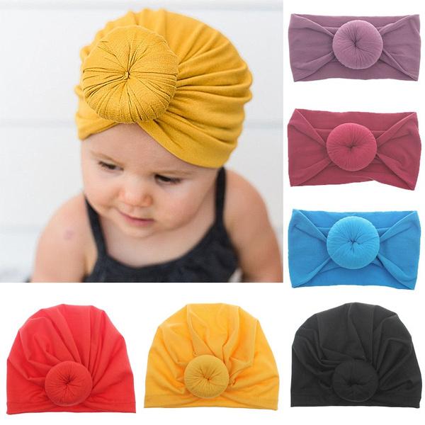 Baby Girl, Toddler, cottonhat, turbanhat