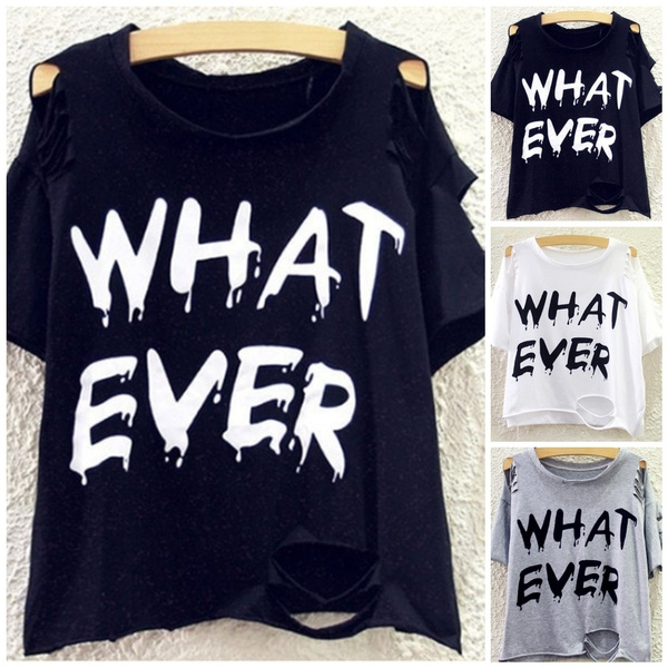 Fashion, crop top, Hollow-out, short sleeves