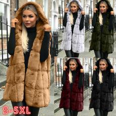 Tank, fur coat, Vest, Fashion