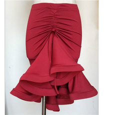 floraldanceskirt, fishtailskirt, ballroomskirt, tangoskirt