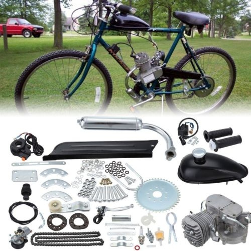 1 Set, Multicolor 80CC 2 Stroke Bike Gas Motor Engine Kit Set