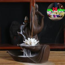 Decor, ceramiccenser, incenseburner, Home & Living