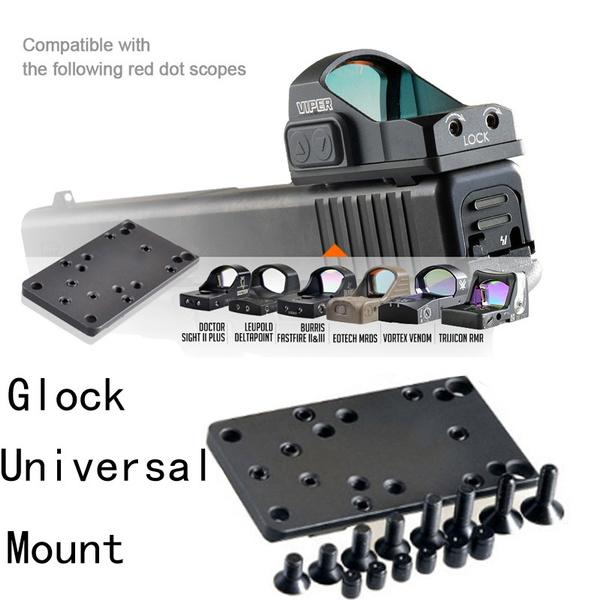 rearsight, glock, trijiconrmr, Hunting