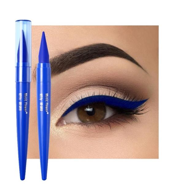 Blues, pencil, Eye Makeup, eye