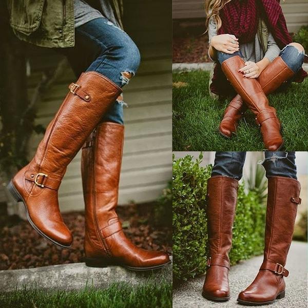 Womens Long Boots