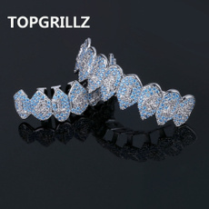 Cubic Zirconia, Hip-hop Style, grillztoothcap, Fashion