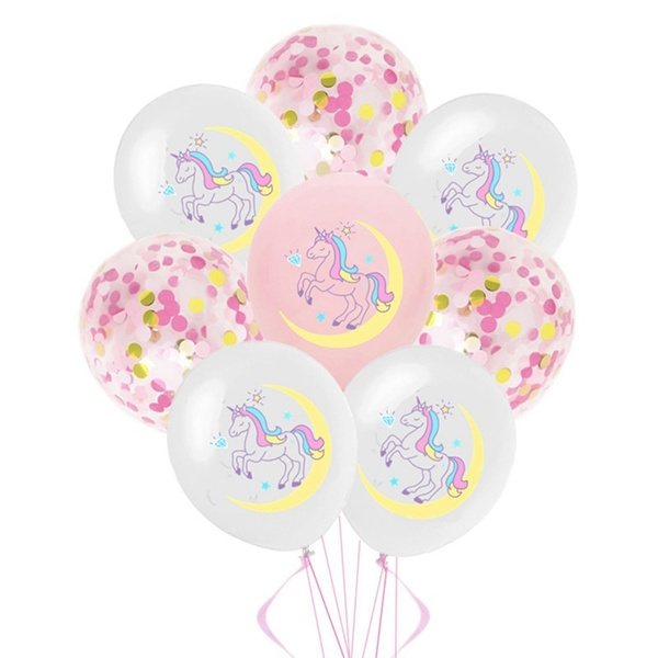 unicornpartysupplie, babyshowerdecoration, latex, birthdaypartydecoration