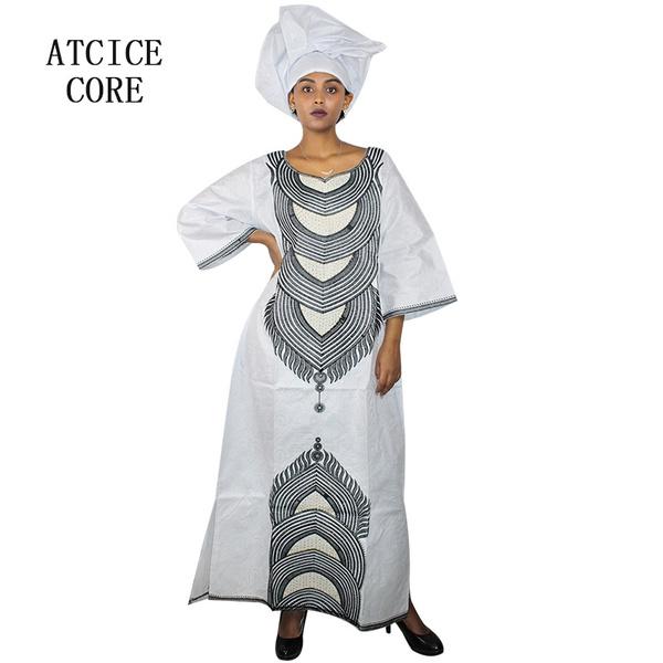 Women's Fashion, embroidery dress, Design, africandressesforwomen