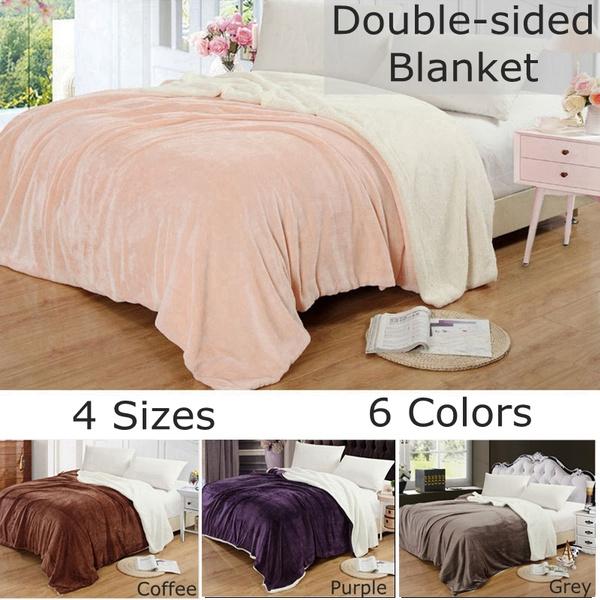 Fleece, warmblanket, bedblanket, Home Decor