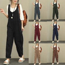 suspenders, Plus Size, dungaree, pants