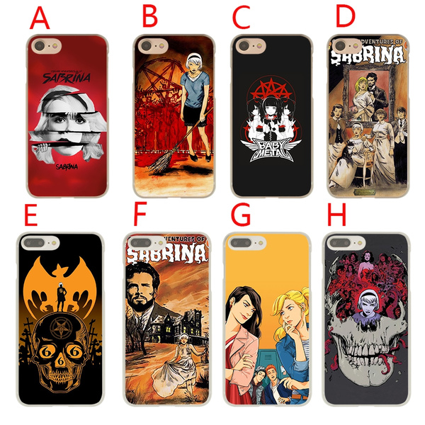 CS87 Chilling Adventures of Sabrina Hard Phone Coque Shell Case for Apple iPhone 7 8 Plus 6 6s 5 5s SE X Cover for iPhone XS Max XR Cases | Wish