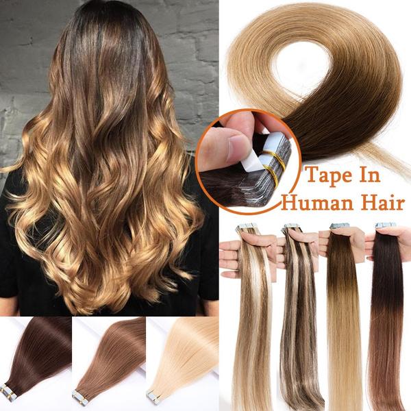 straighthairpiece, hairextensionshumanhair, Hair Extensions, tapeinhumanhairextension