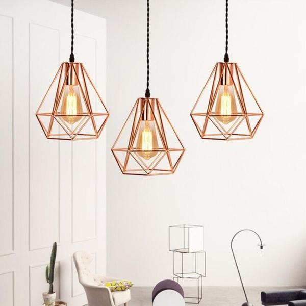 Vintage, pendantlight, E27, led