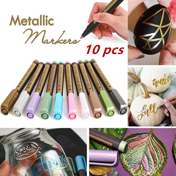 metallicmarker, fabricmarkerspermanent, rockpaintingkit, Drawing & Painting Supplies