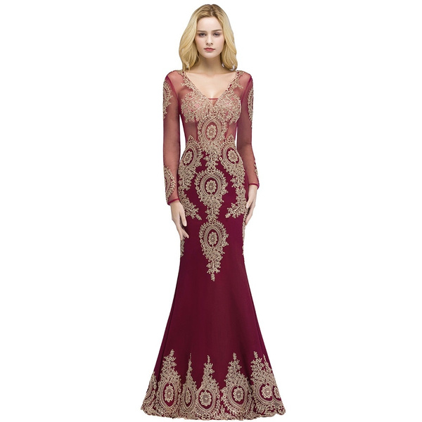 Lace, long dress, motherofthebridedresse, Dress
