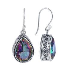 Sterling, Fashion Accessory, Dangle Earring, Gemstone Earrings