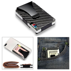 men Money Clip, Men, Metal, Credit Card Holder