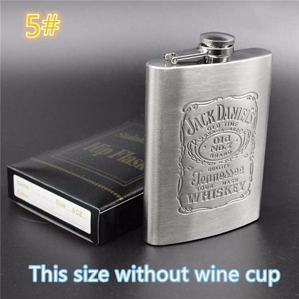 stainlesssteelflagon, pocketflask, Stainless Steel, winebottleset