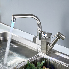 Shower, Faucet Tap, Kitchen, nickel