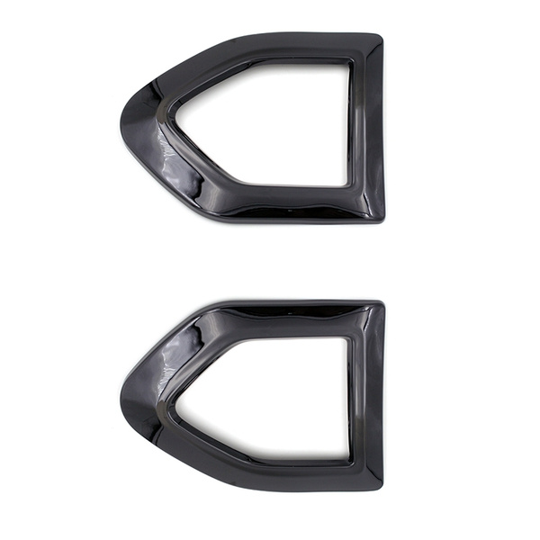MINI Countryman R60 Cooper S Wing Indicator Scuttle Covers Piano Black Gloss