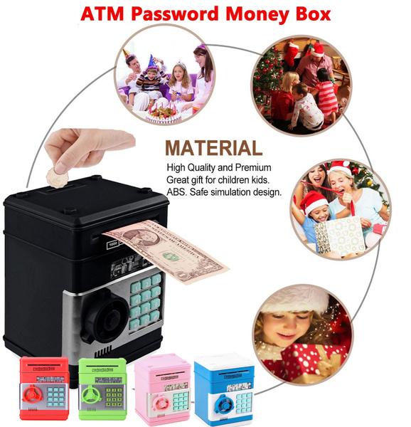 Box, electronicmoneypot, moneybank, Home & Living