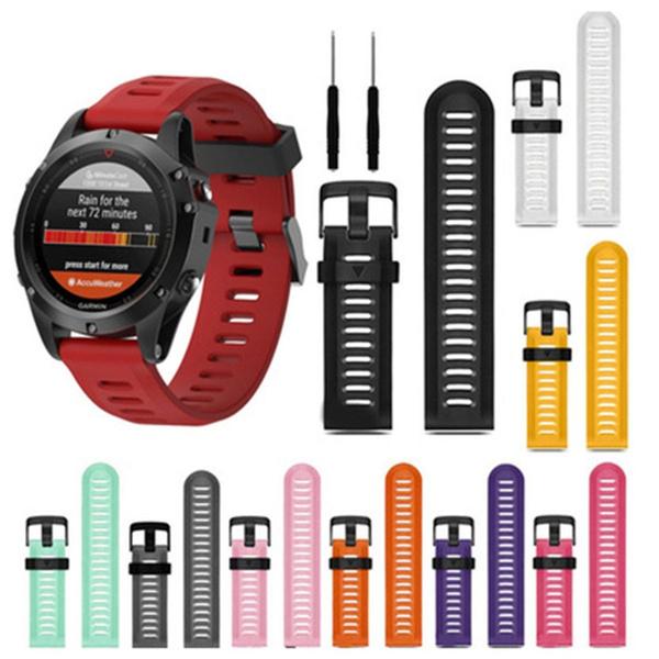 siliconestrapforgarminwatch, garminfenixhrwatchstrap, siliconewriststrap, siliconewatchband