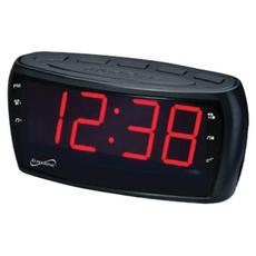 radiocontrolledwallclock, black, Clock, jumbo