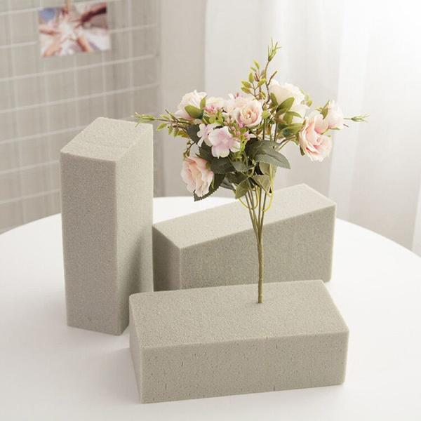 Gray, flowerfoambrick, Flowers, floralfoamblock