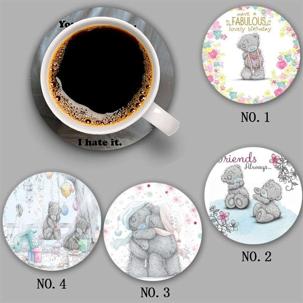 drinksiliconecoaster, diningtabledecoration, Cup, Bears