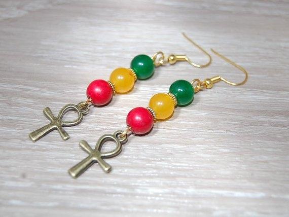 Diamond Earrings, Fashion Earrings, Gold Earrings, Bead