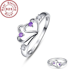 Sterling, Heart, wedding ring, Gifts
