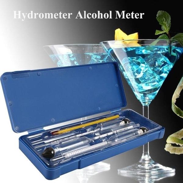alcoholtest, graduatedcylinder, Alcohol, hydrometer