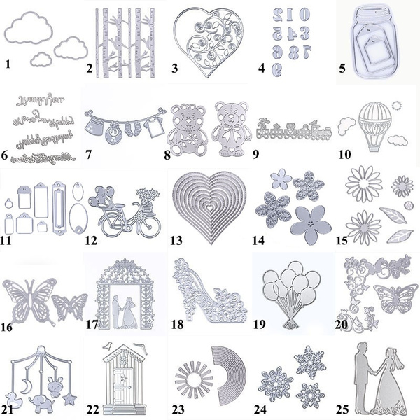 Steel, embossingfolder, papercutting, scrapbookingcuttingdie