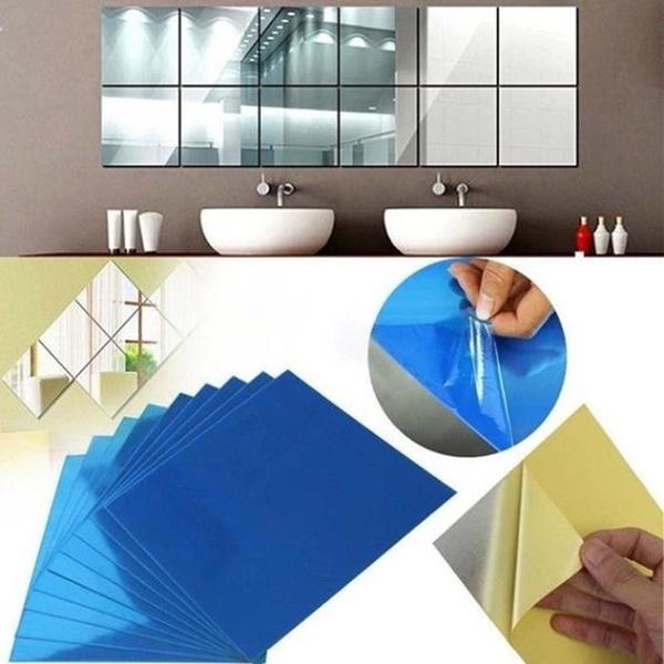 wallpapersticker, bathroomdecor, Home Decor, 3dwallsticker
