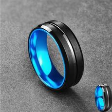 Steel, Blues, tungstenring, Fashion